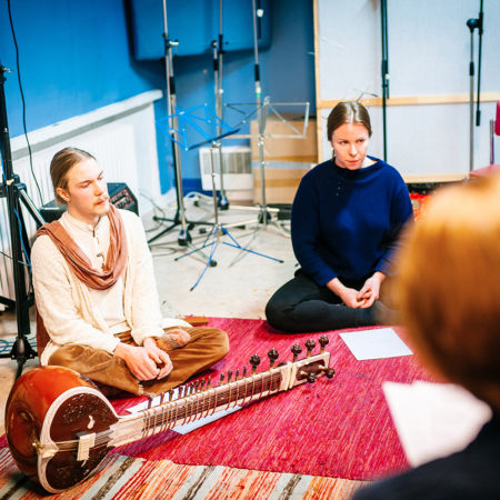Indian classical music workshop, ragas at ISM Finland